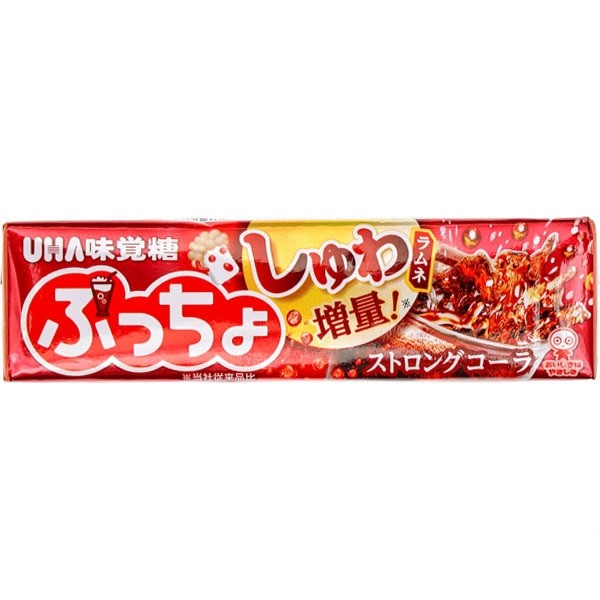 Puccho Strong Cola Flavoured Chewy Candy
