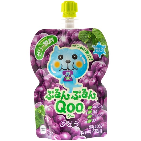 Qoo Grape Flavoured Jelly Drink