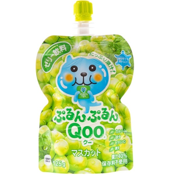 Qoo Muscat Grape Flavoured Jelly Drink