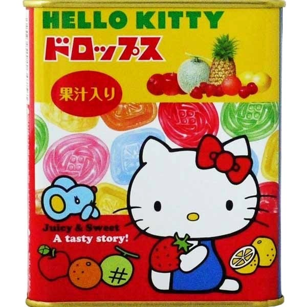 Hello Kitty Fruit Drops in a Tin