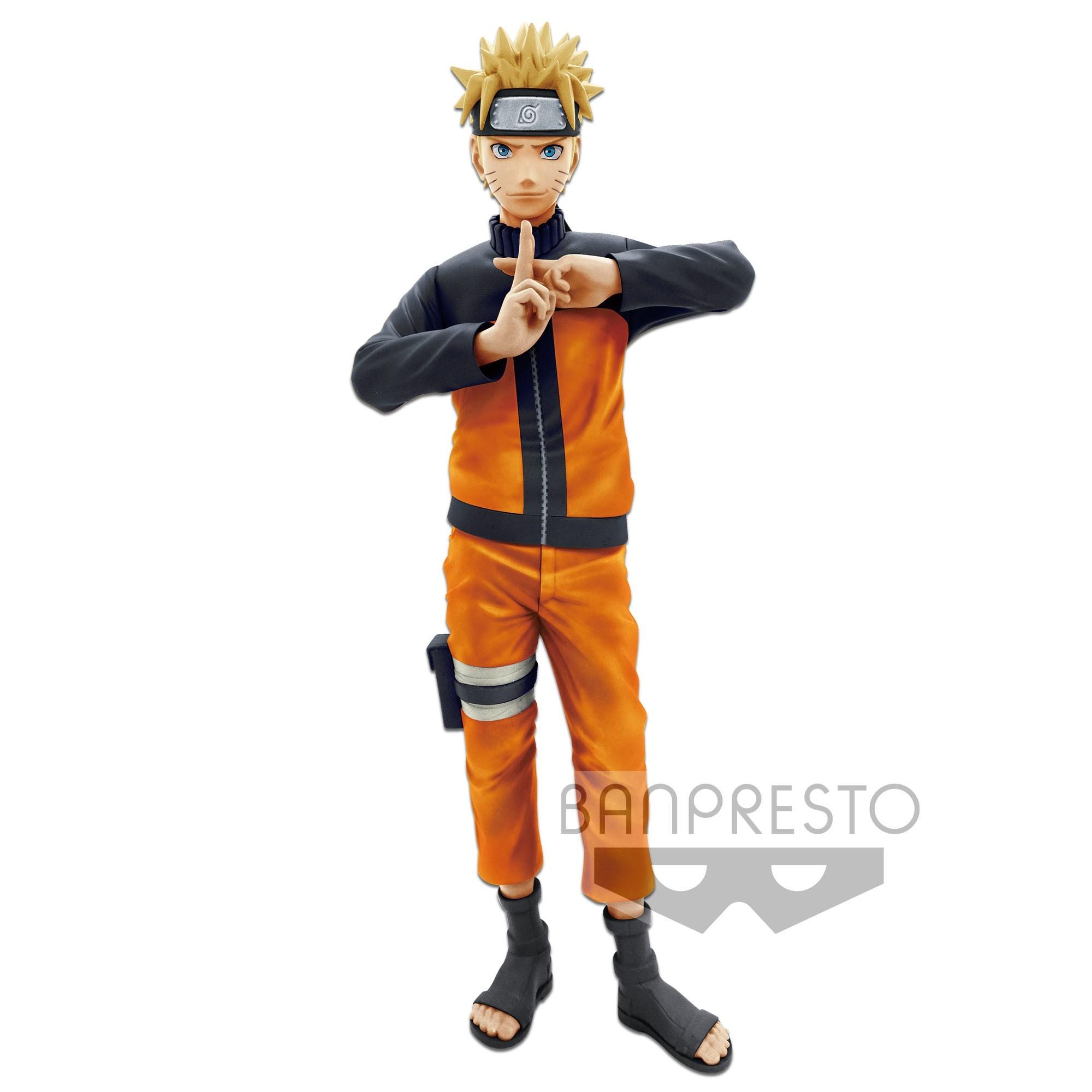 Naruto Shippuden Figure Grandista Nero Uzumaki Naruto