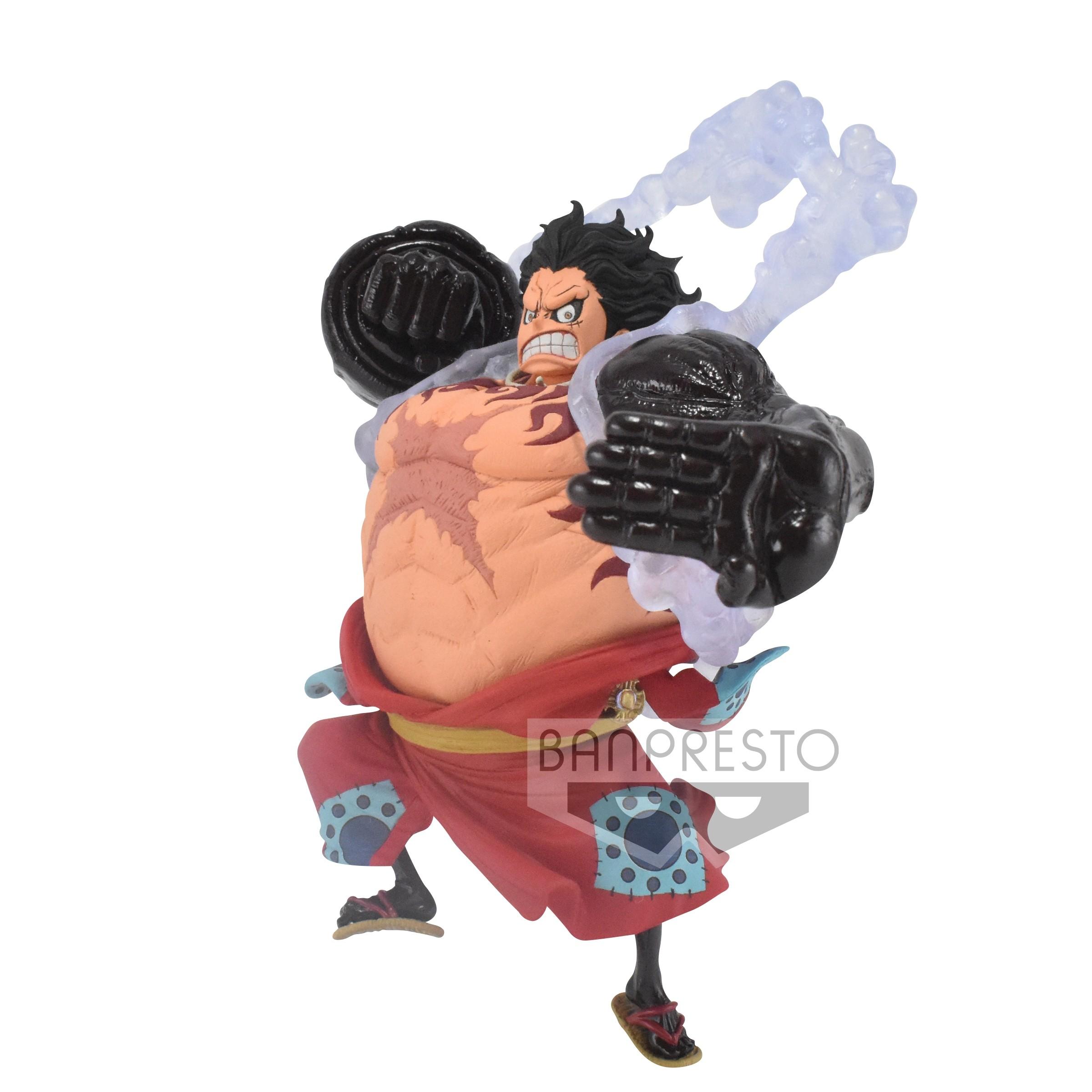 One Piece Figure King of Artist The Monkey D. Luffy Gear 4 Wanokuni