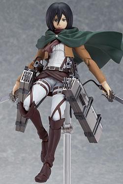 Attack on Titan - Figma Action Figure - Mikasa Ackerman 15 cm