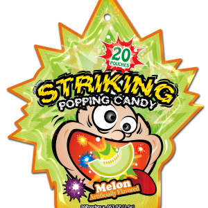 Striking Popping Candy Melon
