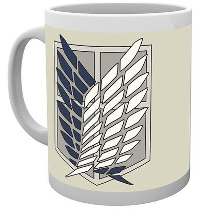 Attack on Titan - Mug 300 ml / 10 oz - Badge