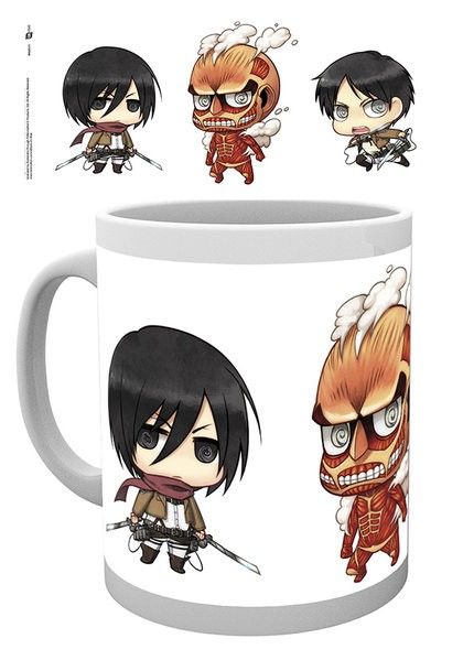 Attack on Titan - Mug 300 ml / 10 oz - Chibi 2