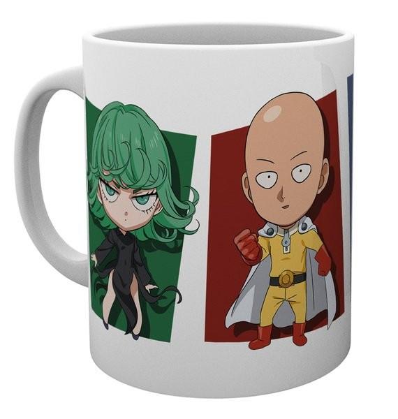 One-Punch Man - Mug 300 ml / 10 oz - Chibi Characters