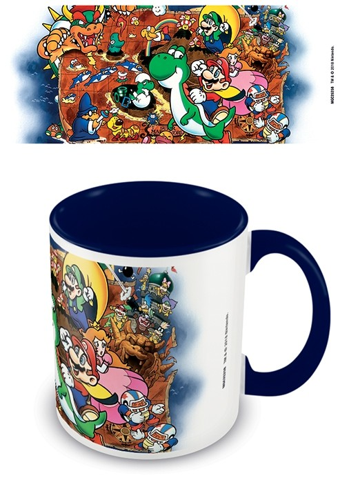 Nintendo - Mug 315 ml / 11 oz - Super Mario (World)