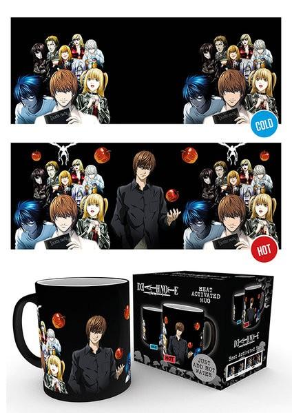 Death Note - Heat Mug 300 ml / 10 oz - Group