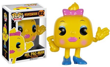 POP! Vinyl: Pac-Man - Ms. Pac-Man - 10 cm