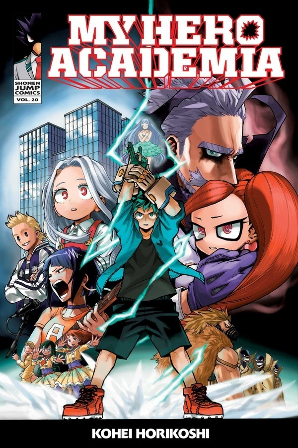 My Hero Academia, Vol. 20