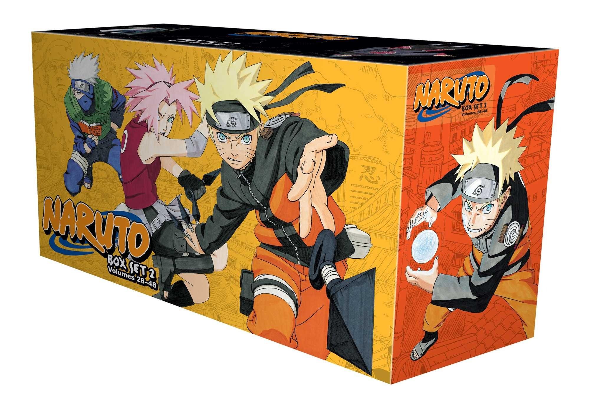 Naruto Box Set 2, (Volumes 28-48)