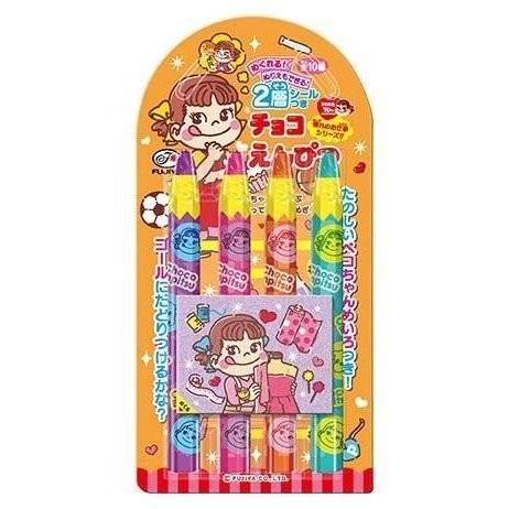 Fujiya Choco Pencil Peco x Unko Kanji Drill 4
