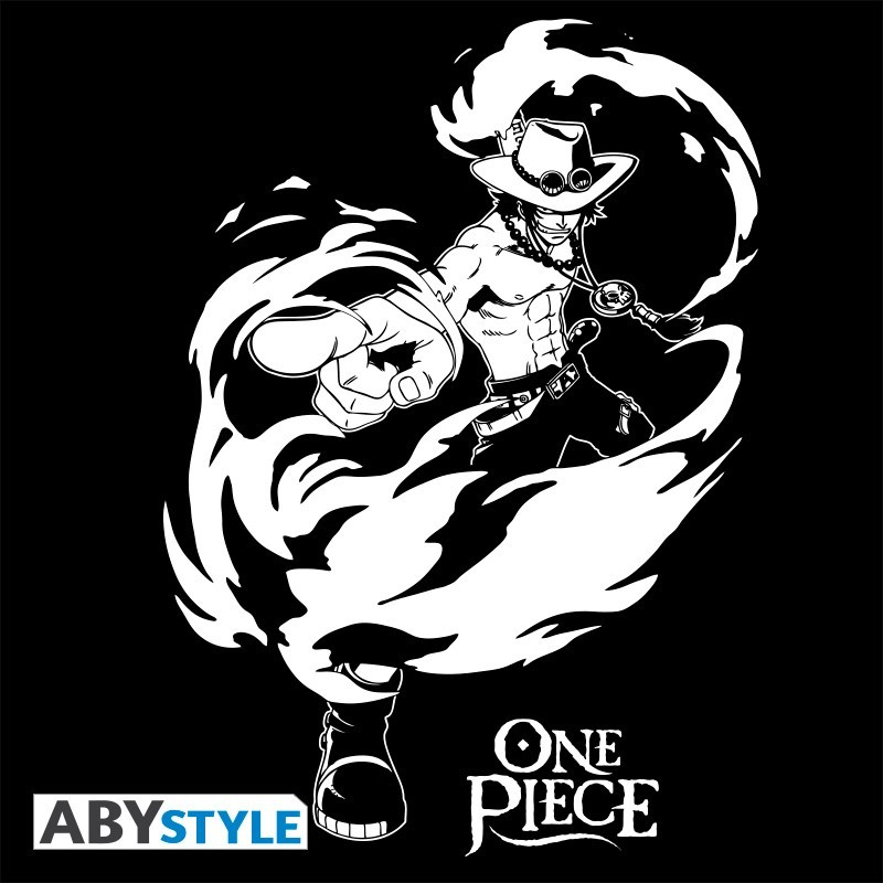 "T-SHIRT ONE PIECE ""ACE"" Large"
