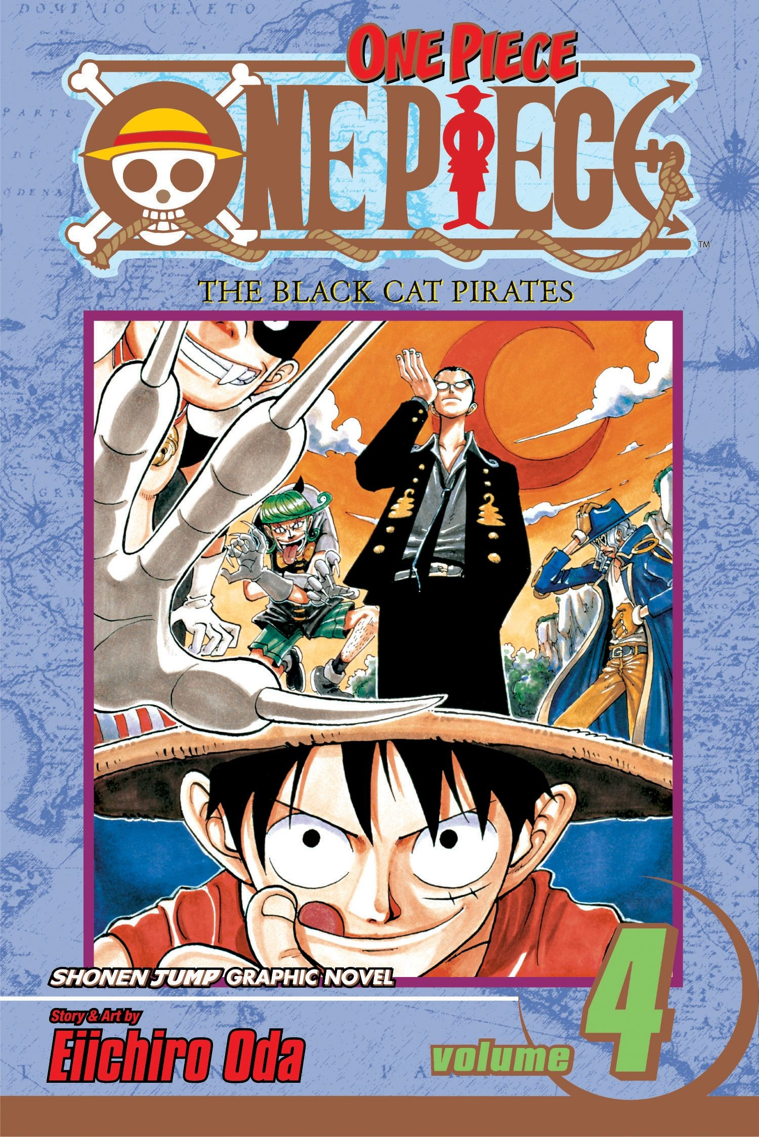 One Piece, Vol. 04
