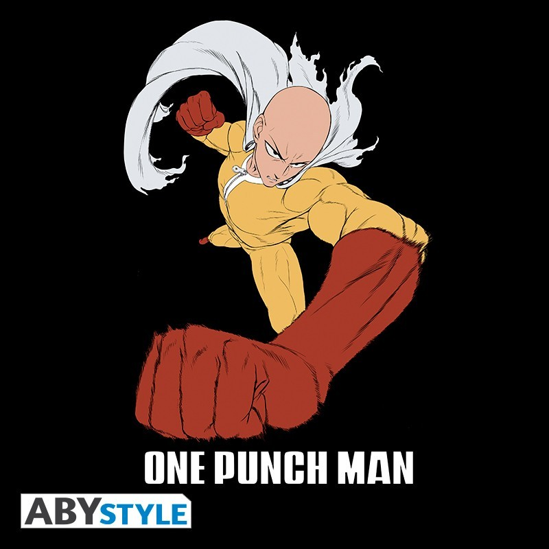 "T-SHIRT ONE PUNCH MAN ""Saitama Punch"" Extra Large"