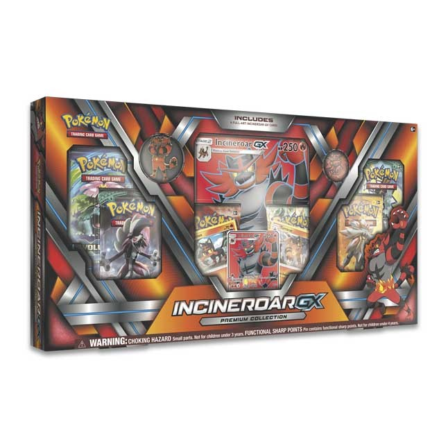 Pokémon TCG: Incineroar-GX Premium Collection