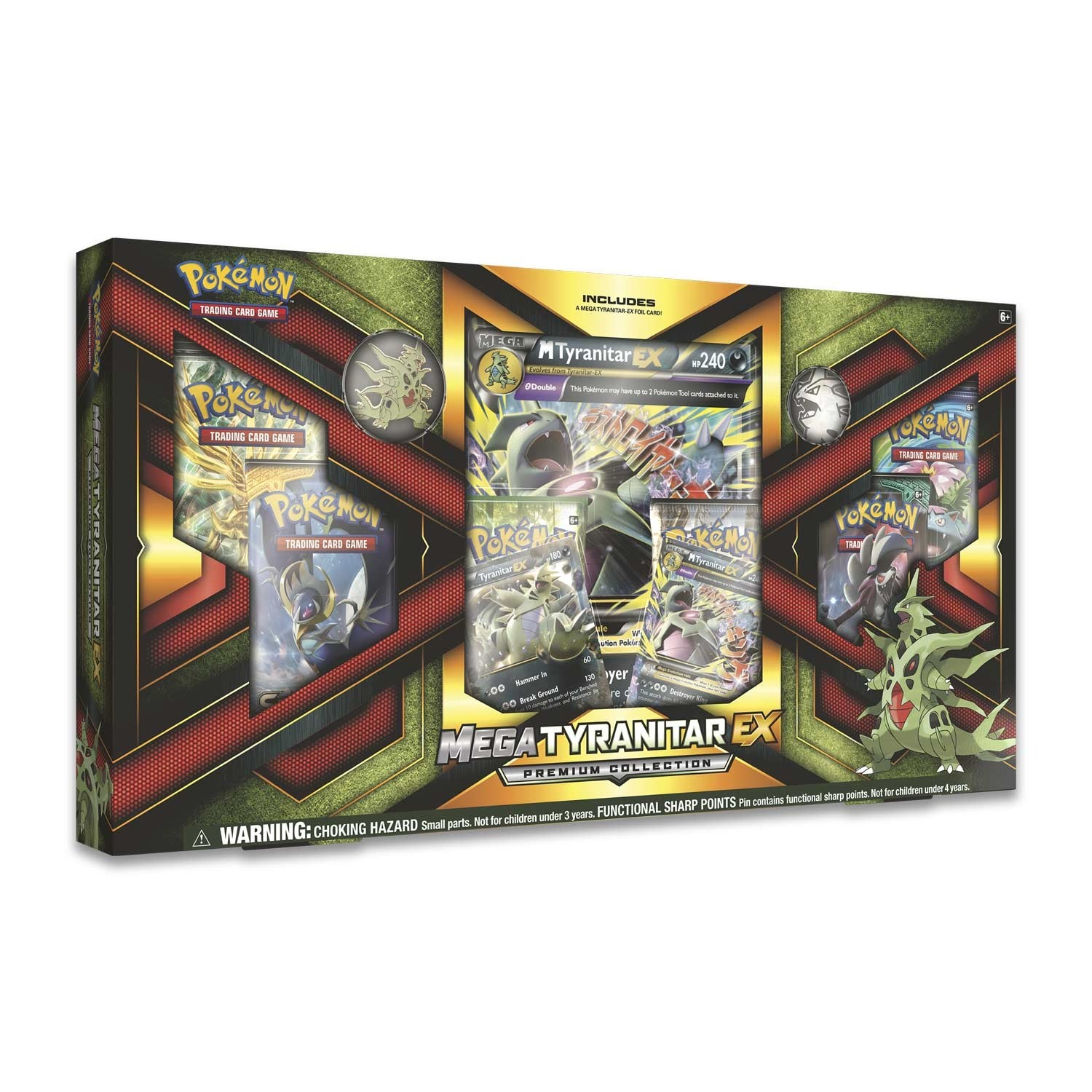 Pokémon TCG: Mega Tyranitar-EX Premium Collection