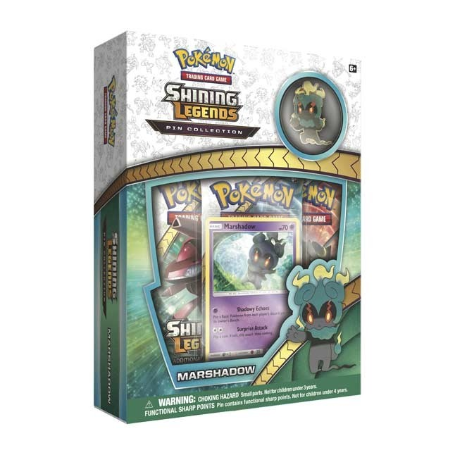 Pokémon TCG: Shining Legends Pin Collection - Marshadow