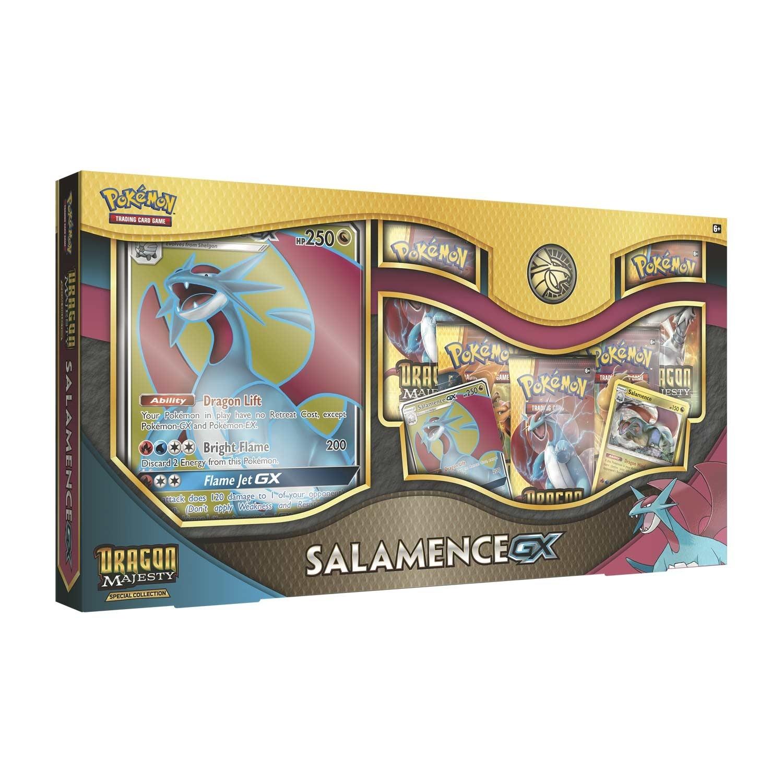 Pokemon TCG: Dragon Majesty Special Collection- Salamence-GX