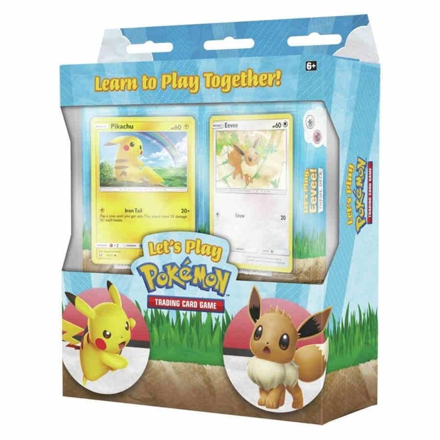 Pokemon TCG: LET'S PLAY POKEMON TCG BOX