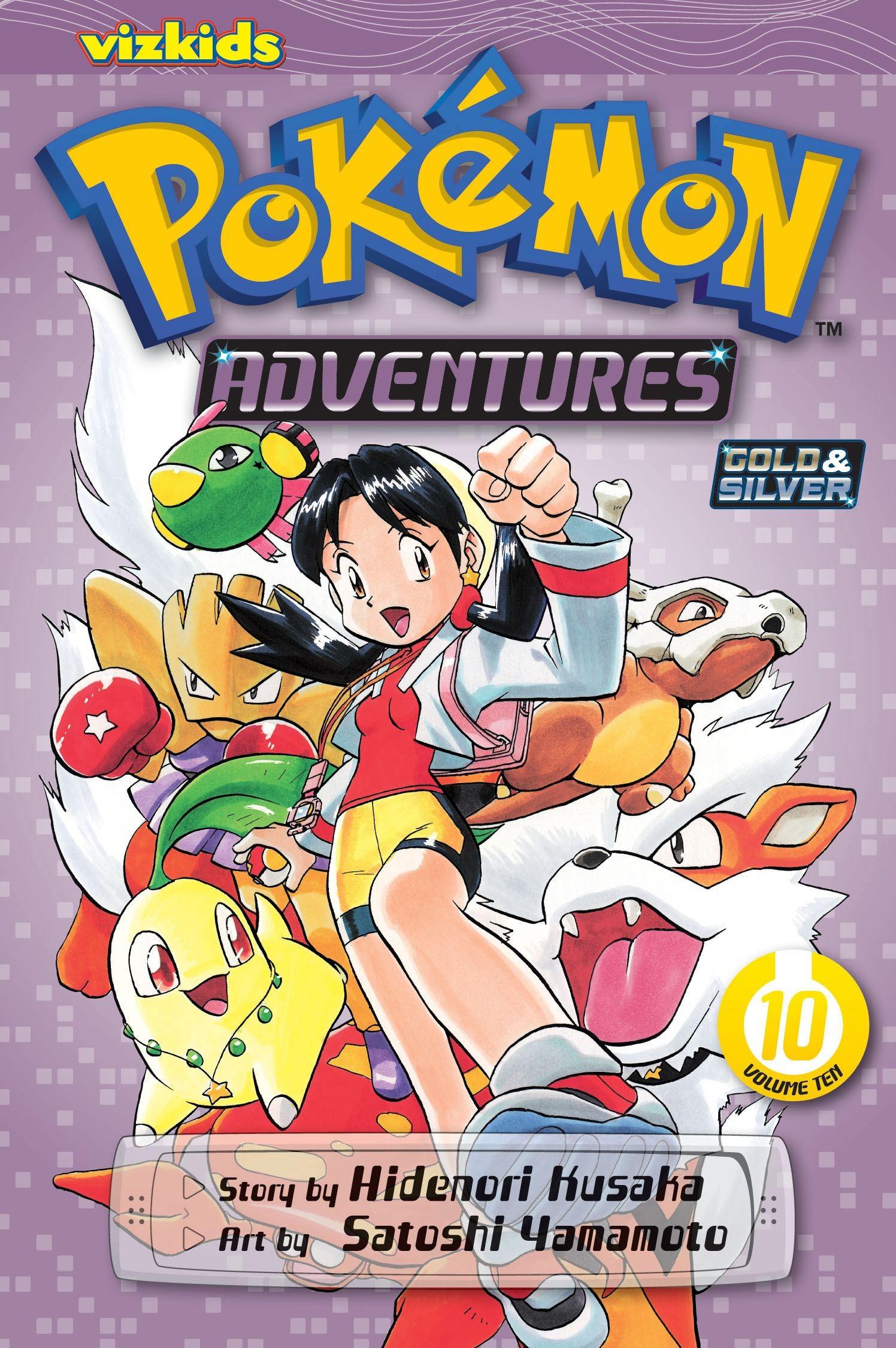 Pokémon Adventures, Vol.10 by Hidenori Kusaka
