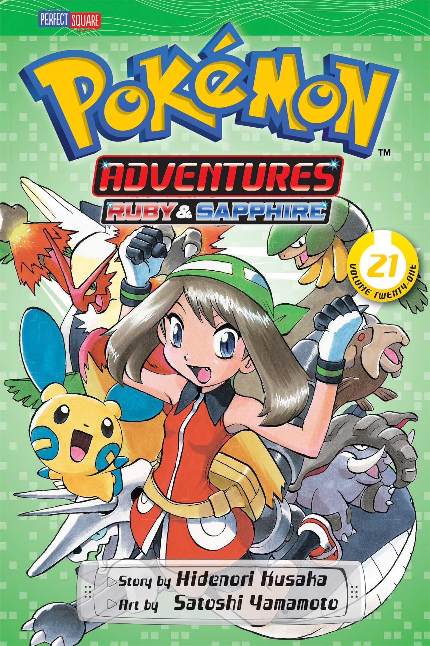 Pokémon Adventures, Vol. 21 by Hidenori Kusaka