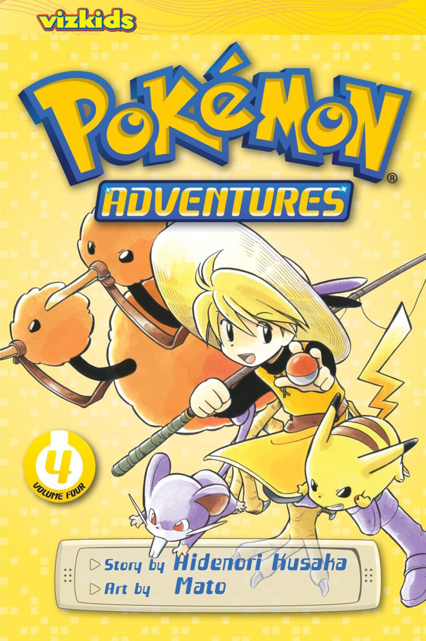 Pokémon Adventures, Vol. 4 (2nd Edition) by Hidenori Kusaka