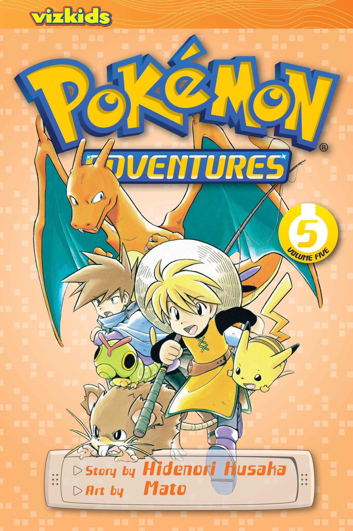 Pokémon Adventures, Vol. 5 (2nd Edition) by Hidenori Kusaka