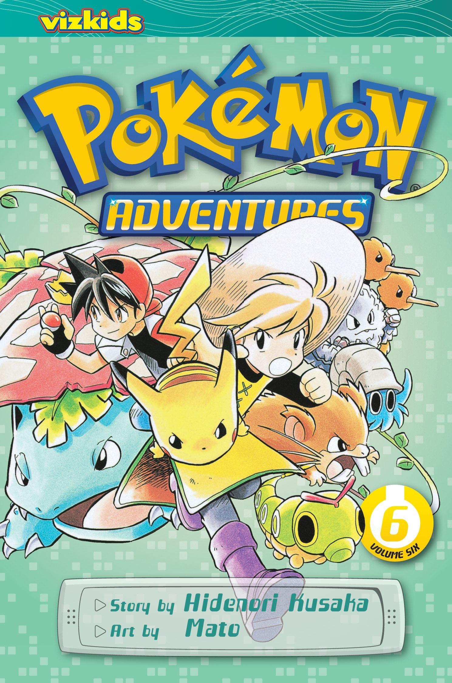 Pokémon Adventures, Vol. 6 (2nd Edition) by Hidenori Kusaka