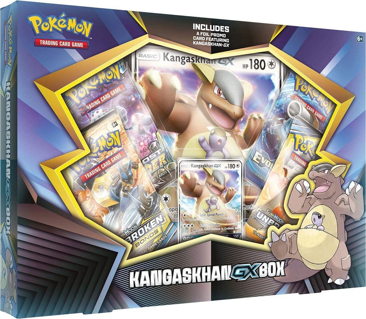 Pokemon TCG: Kangaskhan-GX Box