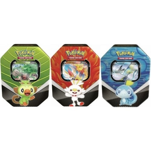 Pokémon TCG: Spring 2020 Galar Partners Tin (Rillaboom/Cinderace or Inteleon)