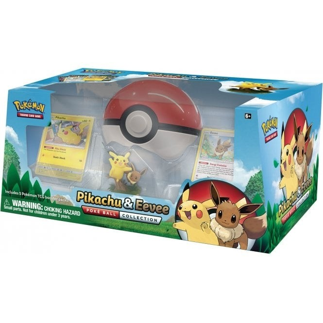 Pokemon TCG: PIikachu & Eevee Poké Ball Collection