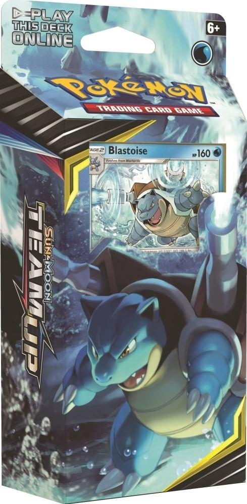 Pokemon TCG Sun & Moon #9 Team Up Blastoise Theme Deck