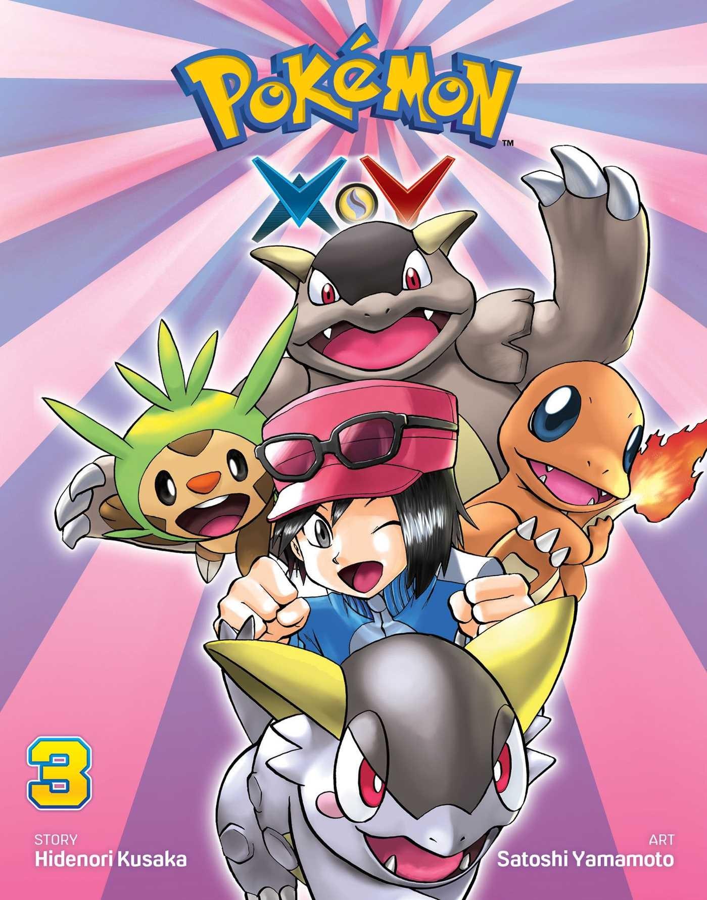 Pokémon X•Y Vol. 3 by Hidenori Kusaka