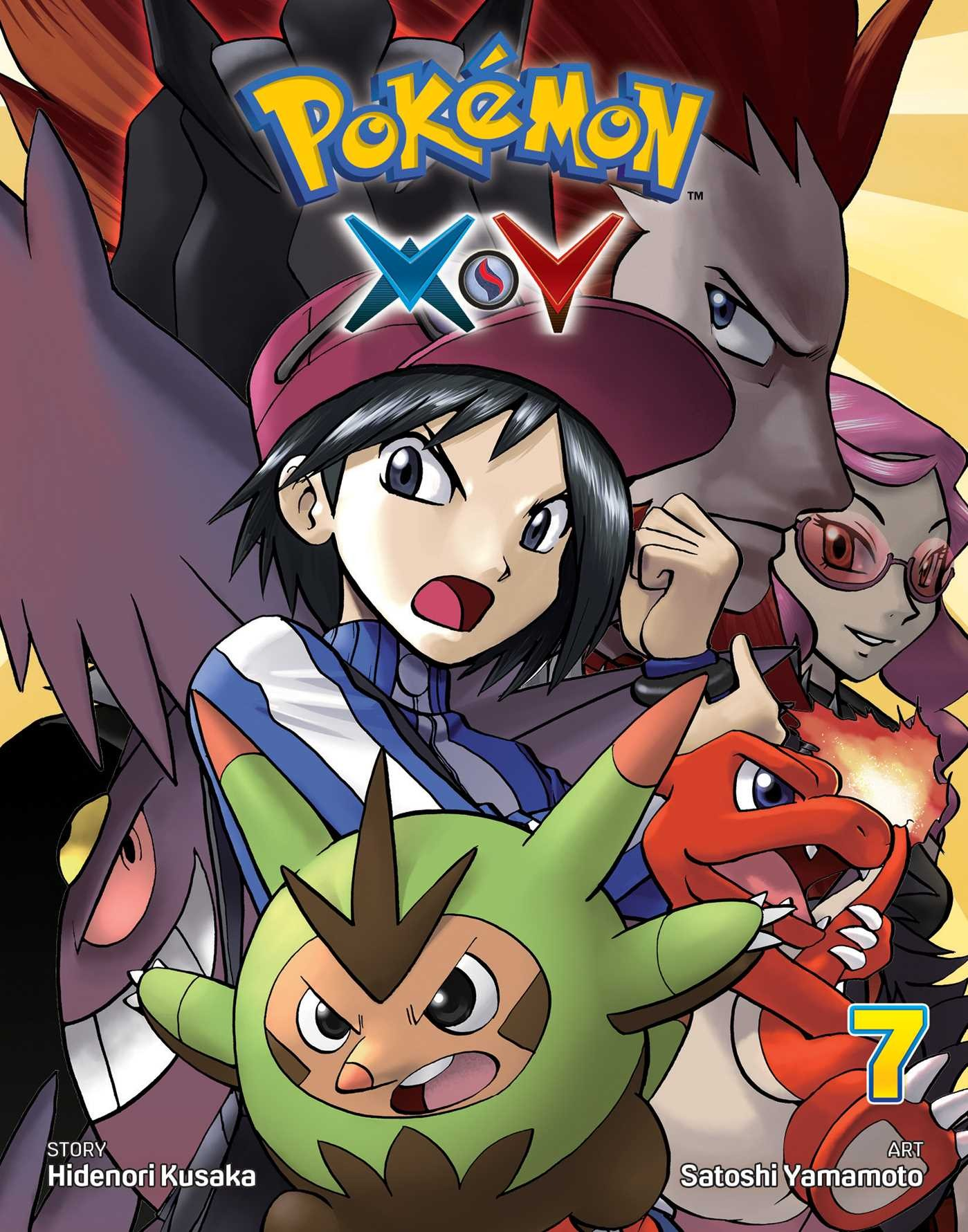 Pokémon X•Y Vol. 7 by Hidenori Kusaka