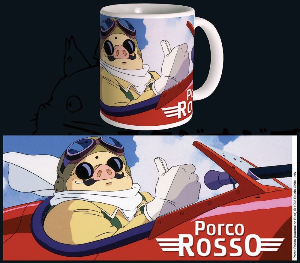 Studio Ghibli - Mug - 320 ml / 11oz - Porco Rosso