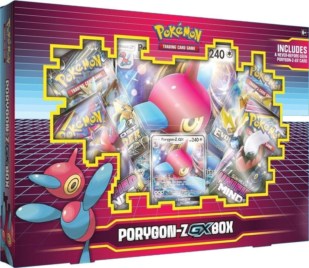 Pokemon TCG Porygon-Z-GX Box