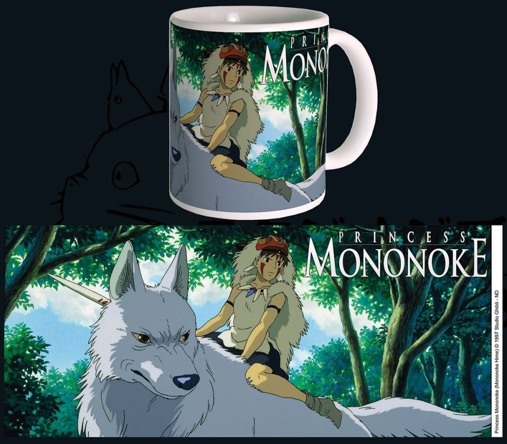 Studio Ghibli - Mug - 320 ml / 11oz - Princess Mononoke