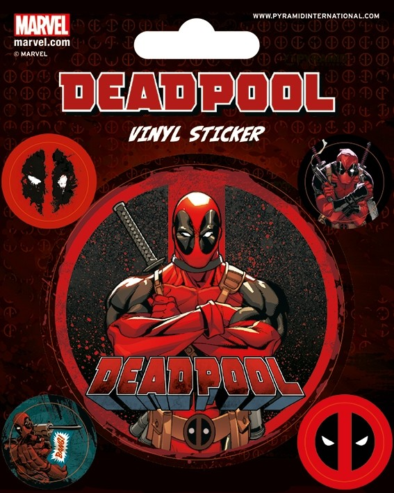 Deadpool - Vinyl Sticker Pack - Stick This
