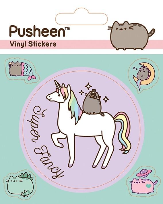 Pusheen - Vinyl Sticker Pack - Mythical