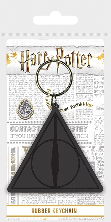 Harry Potter Keychain Deathly Hallows Logo