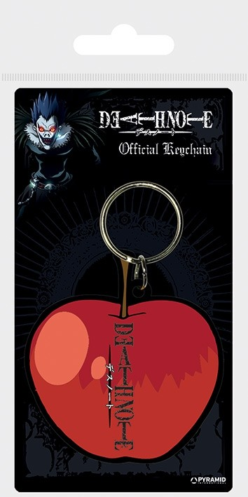 Death Note - Rubber Keychain - Apple