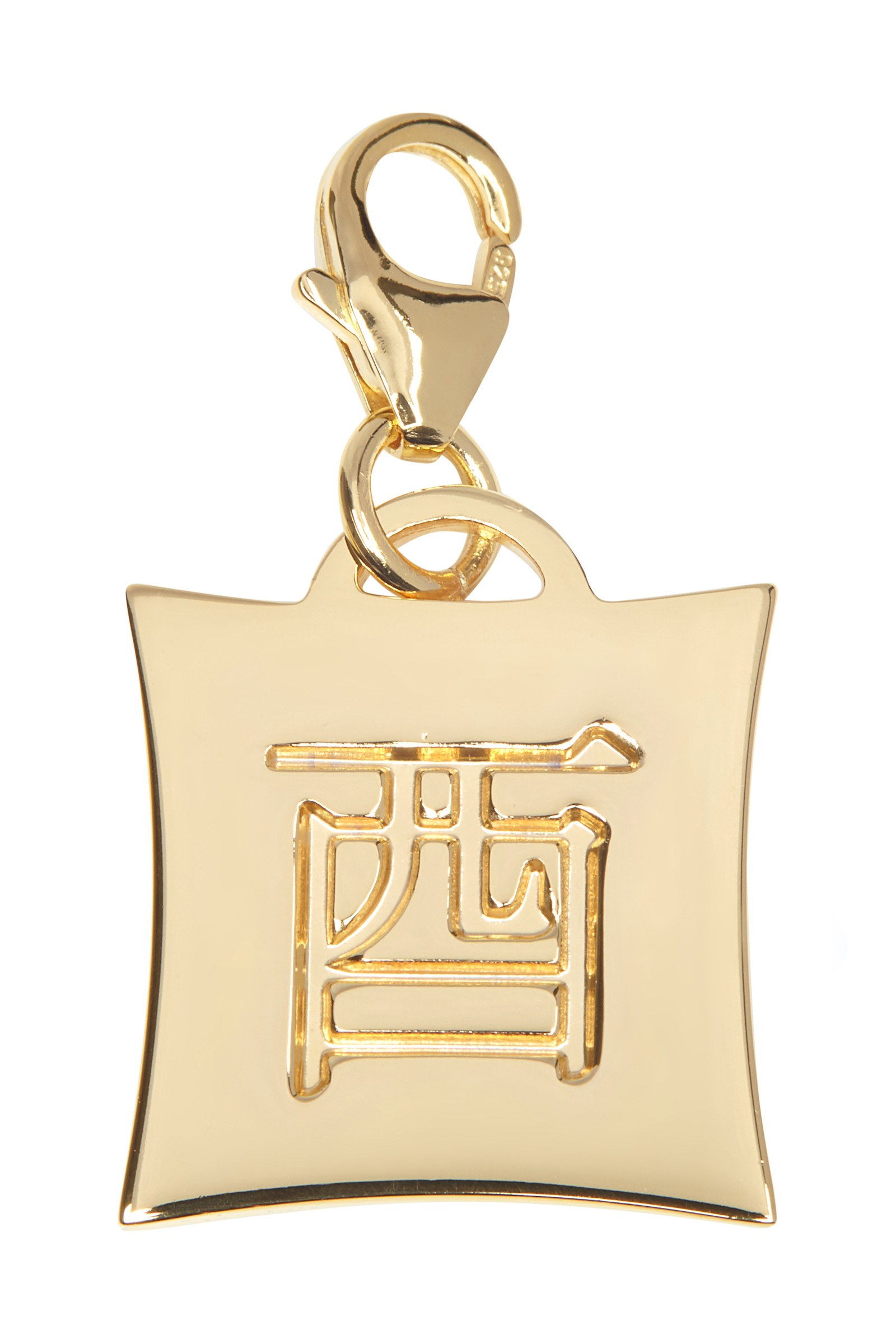 Japanese Star Sign Charm - Rooster - 18KT Gold Plated