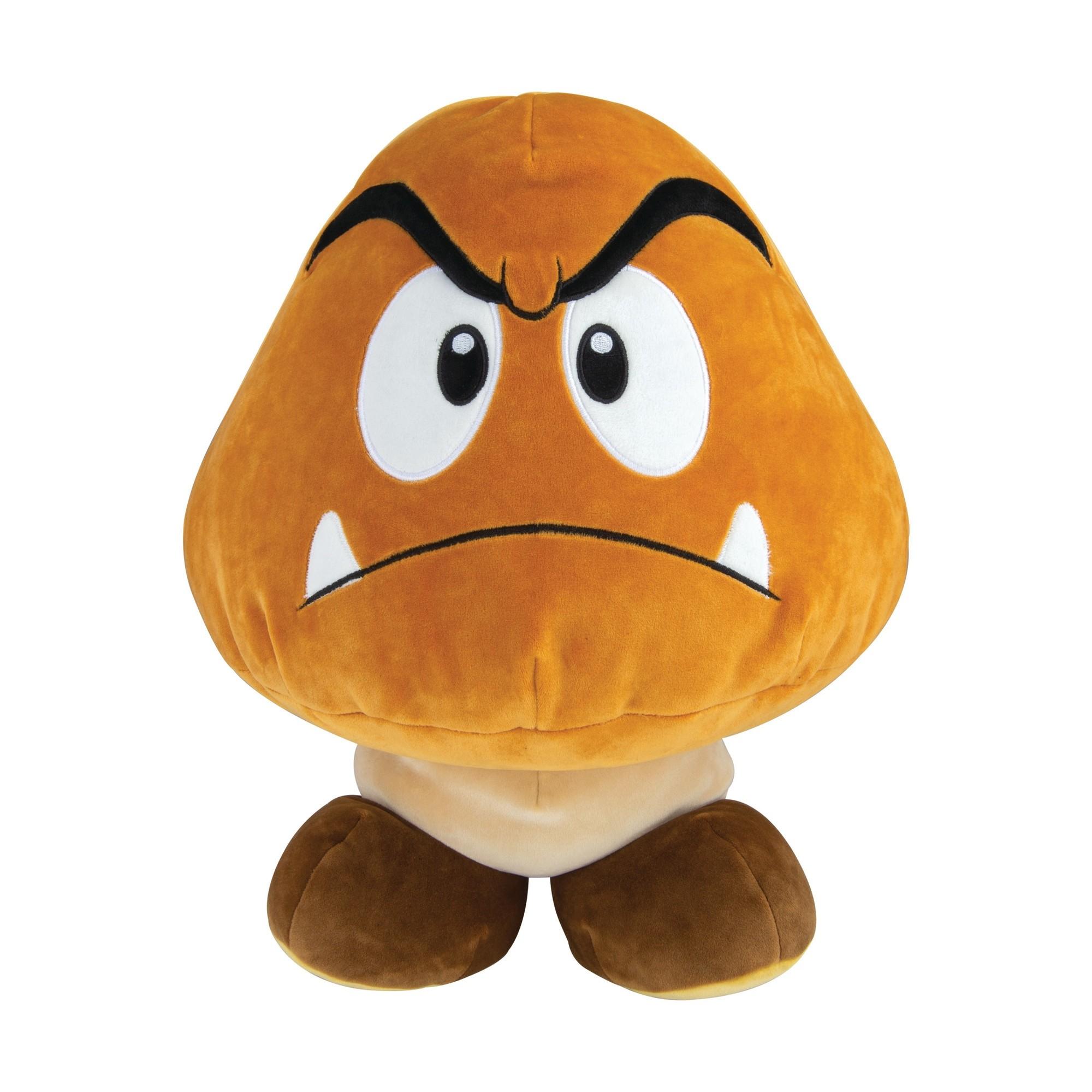Mocchi-Mocchi Super Mario Bros Goomba Mega Plush