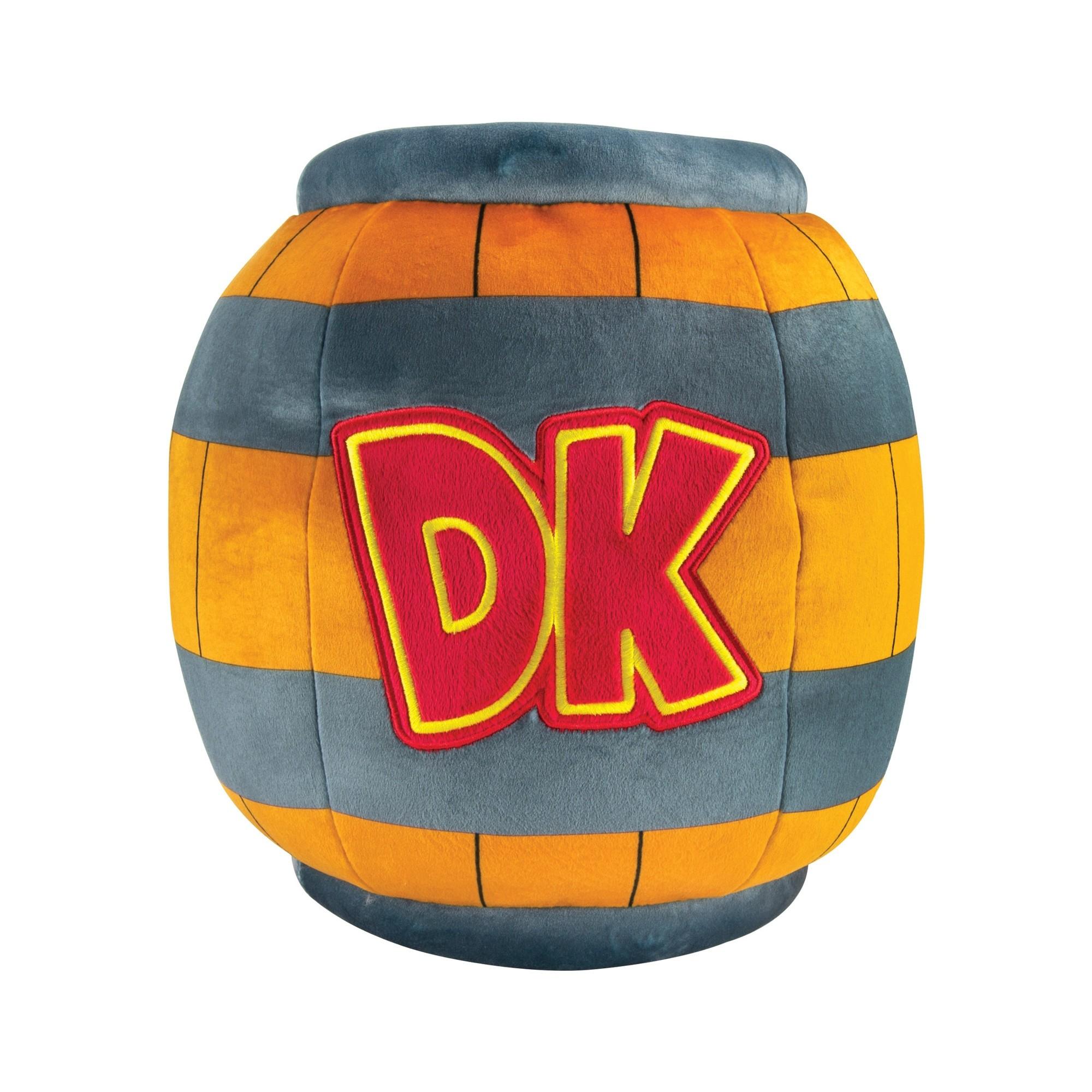 Mocchi-Mocchi Donkey Kong Barrel Mega Plush