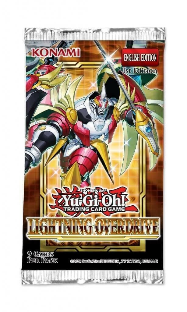 Yu-Gi-Oh! TCG - Lightning Overdrive Booster Pack