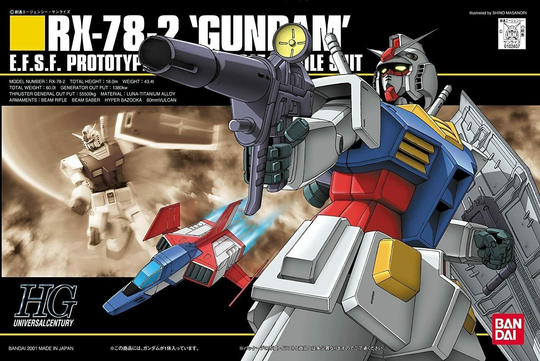 HGUC RX-78-2 GUNDAM 1/144 - GUNPLA