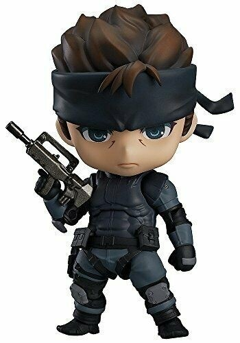 Metal Gear Solid Nendoroid Action Figure - Solid Snake