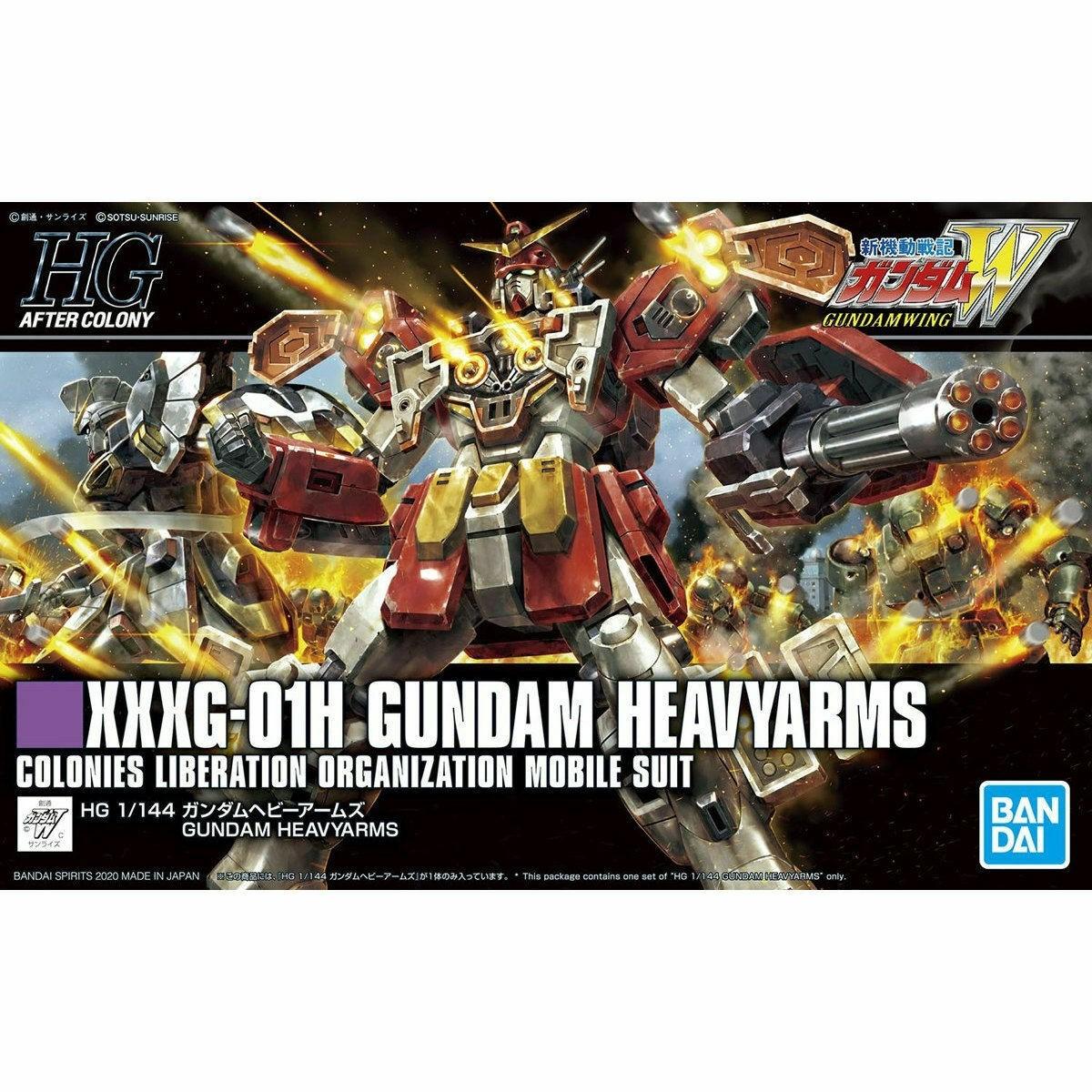 HGAC  XXXG-01H GUNDAM HEAVYARMS 1/144 - GUNPLA